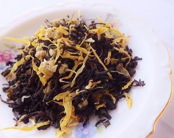 Honey Bee Tea, Black Loose Leaf Tea, Iced Tea, Tea Party, Wedding, Shower Favor