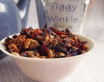 Tiggy Winkle Herbal Tea, Kids Herbal Tea, Herbal Tea, Fruity Lemon Herbal Tea, Loose Leaf Tea