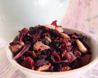 Hunny Bunny Herbal Tea - Strawberry Herbal Tea - Herbal Tea - Kids Tea - Tea Party Tea - Iced Tea