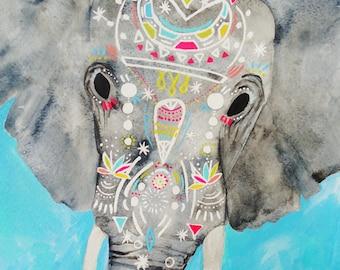 PRINT - Enchanted Elephant