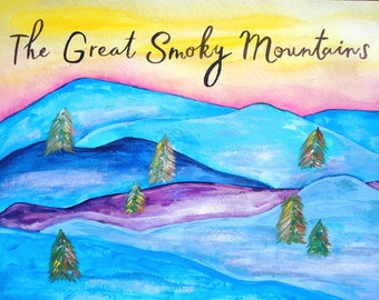 PRINT - Great Smoky Mountains