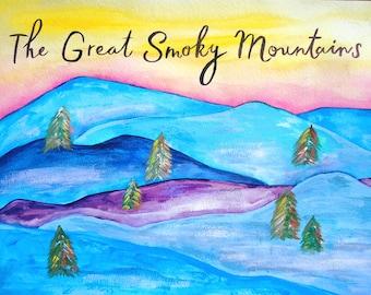 PRINT - Great Smoky Mountains