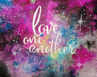 PRINT - Love One Another