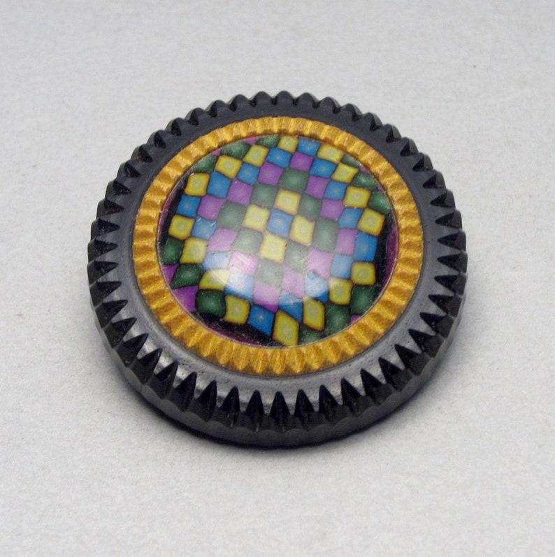 Patchwork Button