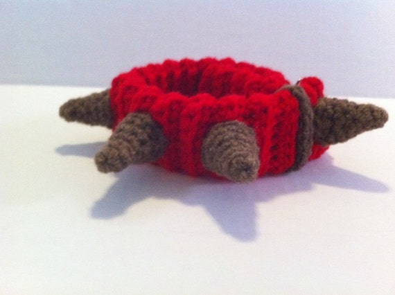 Spiked Dog Collar Crochet Pattern Not Just For Dogs Etsy