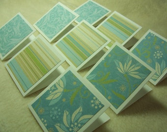 Mini Note Cards...9 Piece Set of Very Adorable Miracle Mini Note Cards