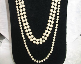 Set of 3 Classic Pearl Necklaces
