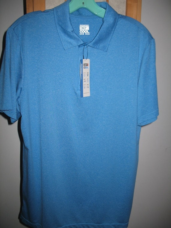 Océan bleu moyen 32 degrés Cool Pull chemise