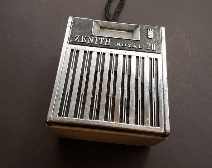 Zenith Royal 20 portable transistor radio