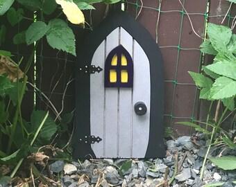 Fairy Door, Gnome door, Faerie Doors, Elf Doors, 9.5 inch.