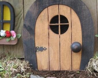 Fairy Doors Faerie Doors Gnome doors Elf Doors rounded. & Elf door | Etsy