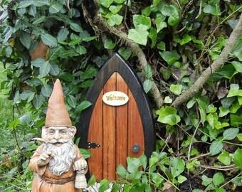 Fairy Doors Gnome doors Faerie Doors Elf Doors with welcome sign & Gnome door | Etsy