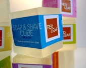 Vegan Soap and Shave Cubes From Red Leaf.