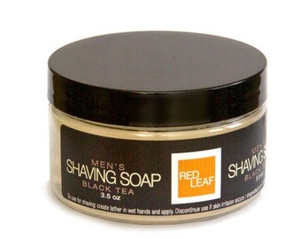 Travel Shaving Soap Mens Wet Shave Soap With Lid