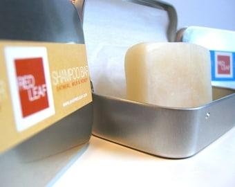 Shampoo Bar With Travel Case