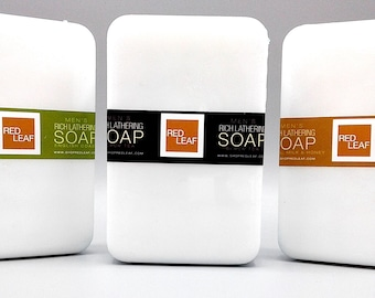 Giant Mens Soap Bar, Can Be Cut It Into 2 Big Bars, Unscented Vegan, Soap For Men, Gift For Him, Man
