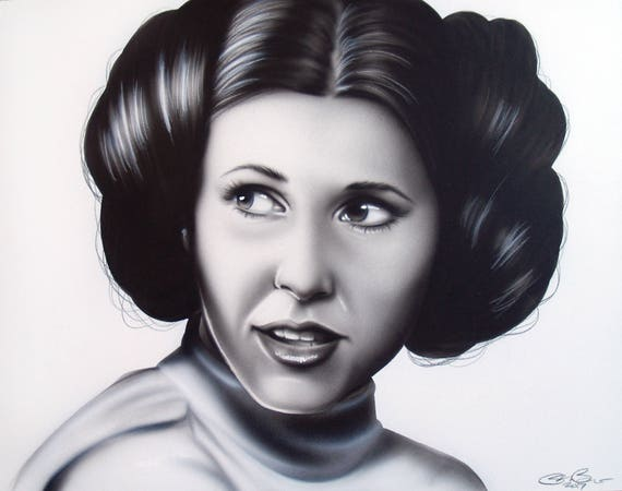 carrie fisher prinzessin leia