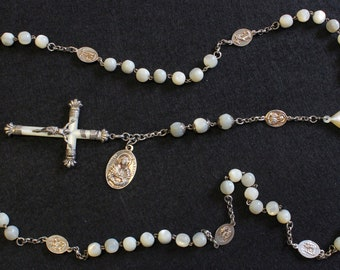 ANTIQUE VINTAGE ROSARIES