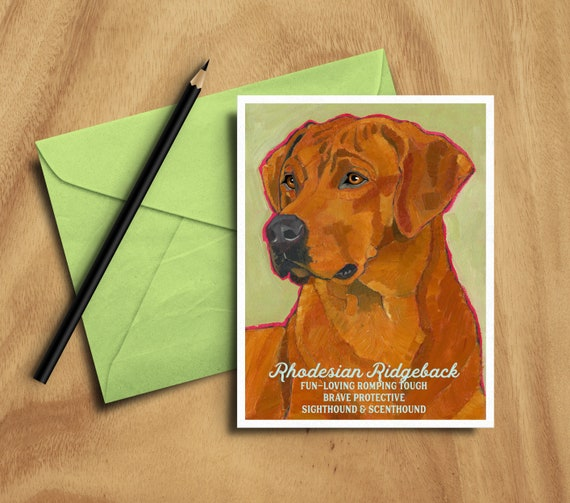 RHODESIAN RIDGEBACK Wanted Personalized Magnet With Your Dog/'s Name