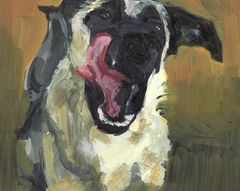 Giclee Print of PSPCA Series: Jake