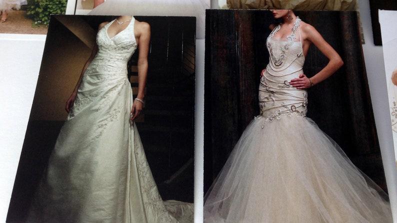 Wedding Gowns x24 Envelopes Set 4 Top Load