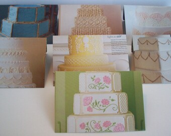 Envelopes - Medium - Cakes - Lined - x7 - Recycled