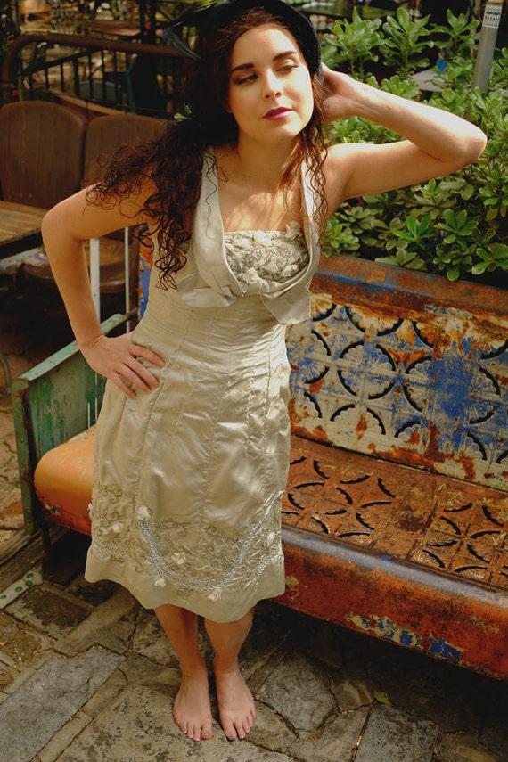 ELEGANT PLATINUM COCKTAIL Dress