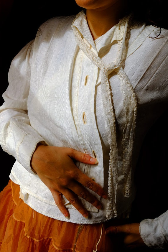 Victorian Cotton Blouse or jacket
