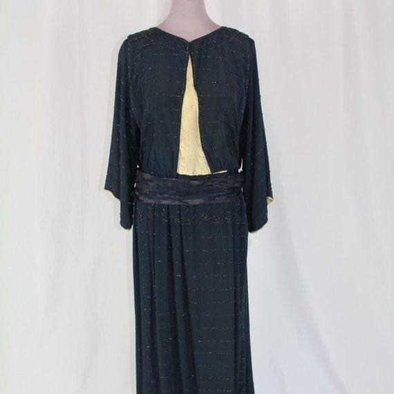 1930s BEADED DRESS