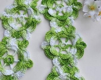 CROCHET PATTERN Spring Fling Scarf Crochet Pattern in PDF Instant Download