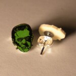 Frankenstein Stud Earrings