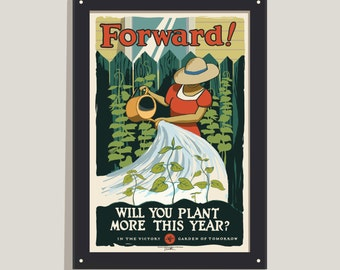 Forward! - color poster