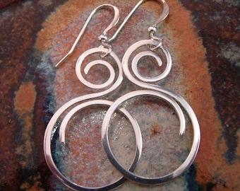 Fine Silver / Sterling Silver Earrings