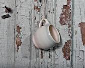 Tiny Christmas Tree Ornament Wheel-thrown Pottery