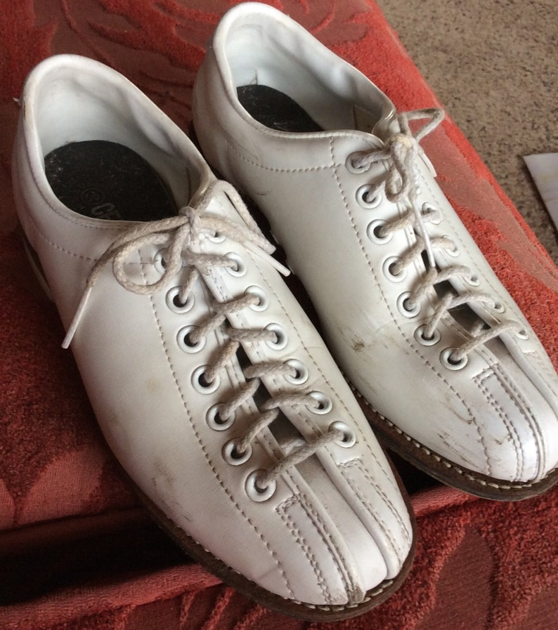 11c4e7d7a Vintage Bowling buty beżowy Panie sportowe obuwie Mid