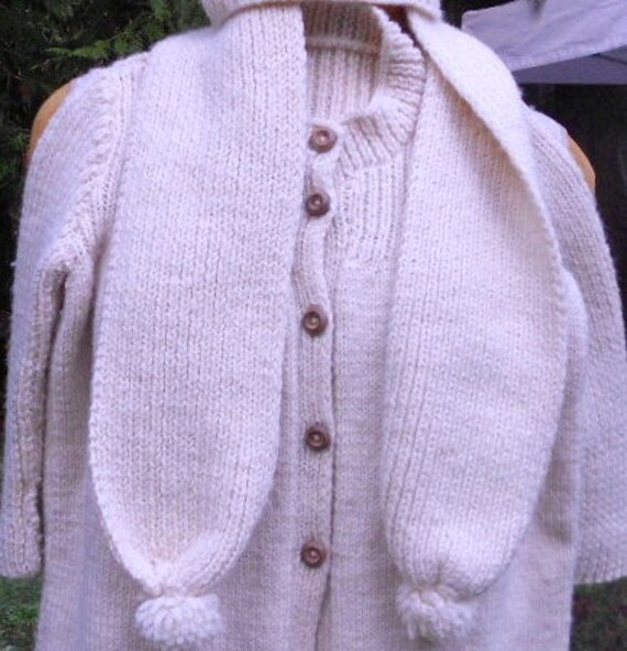 Vintage SWEATER CHILD OUTFIT, sweater, scarf, hat,
