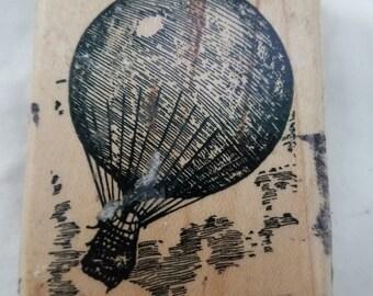 Air balloon rubber stamp