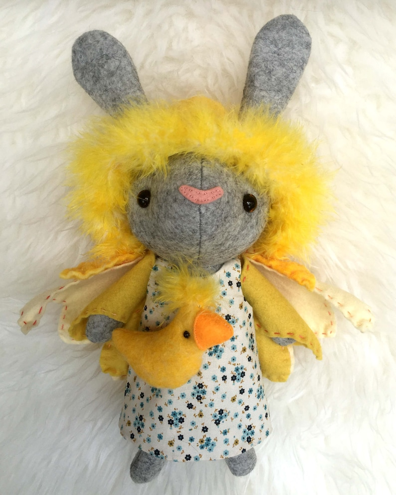 Briar the Bunny and Peep PDF Sewing Pattern image 0