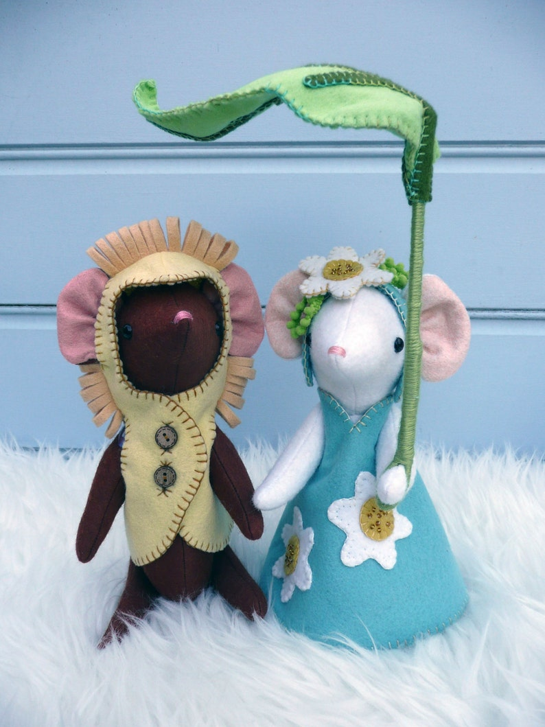 Daisy and Leo in their very fetching party dress ups image 0