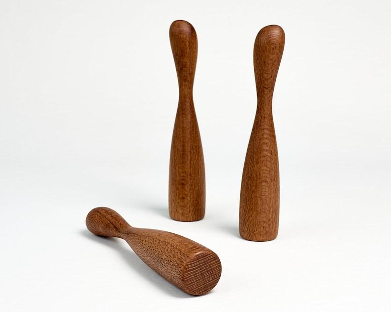 Small Muddler for Caipirinha Mojito  Wood Muddle Stick image 0