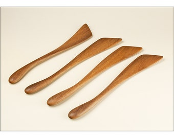 The Classic Stirrer - Left or Right Hand - Elegant Minimal Modern Cooking Utensil - Handmade by Someone Who Cooks