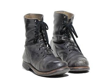 4b9dbaf7e8b Vintage combat boots | Etsy