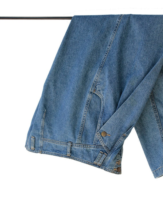 Vintage High Waist Denim Baggy Jeans