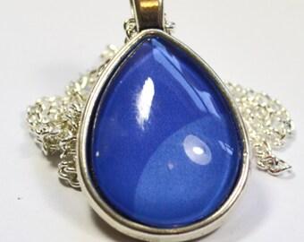 Steven Universe Lapis Lazuli Gem Necklace