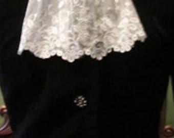 Vintage Victorian Style Short Jacket Koret of California Vintage Jacket - Steampunk - Edwardian Style Short Jacket - Rhinestone Buttons