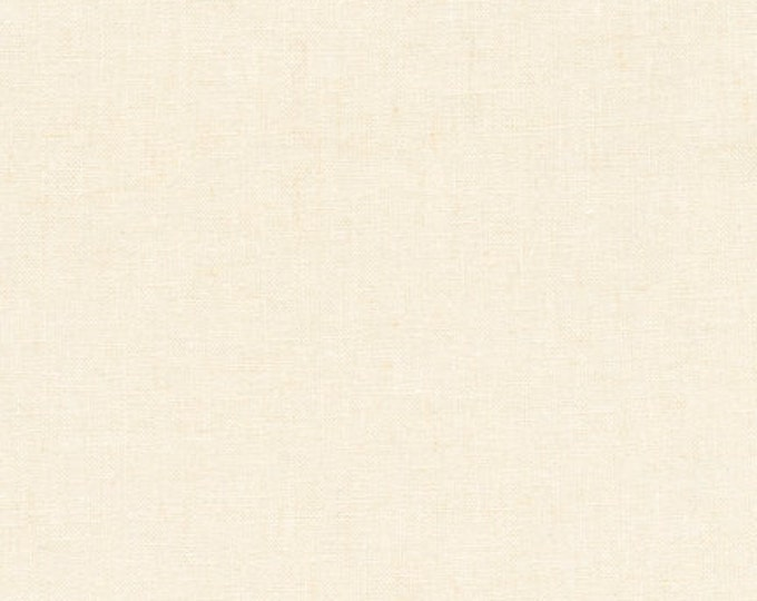 """ESSEX 55"""" Extra WIDE Linen Cotton IVORY Fabric by Robert Kaufman by the Yard - Volume Discount Available"""
