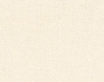 "ESSEX 55"" Extra WIDE Linen Cotton IVORY Fabric by Robert Kaufman by the Yard - Volume Discount Available"