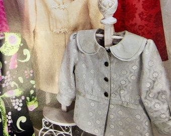 """Sewing PATTERN No. 100 """"The CATHERINE COAT"""" How To Make Instructions Directions Boutique Chic by Serendipity Studios Jacket Blazer Top"""
