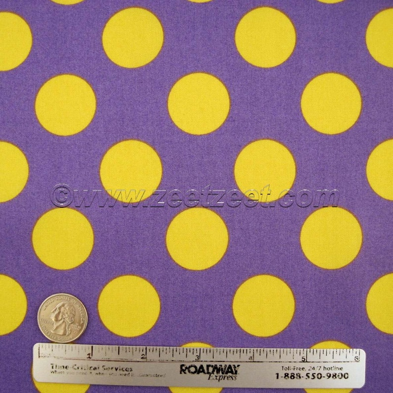 Funky RED,PINK,YELLOW BLUE CIRCLE Fabric 46cm x 46cm