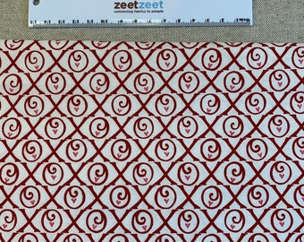 """Red Pink White XOXO Heart Quilt Quilting Fabric 100% Cotton by the Precut Remnant, Fat Quarter, Half Yard Oop VALENTINE """"Be Mine"""" by Moda"""